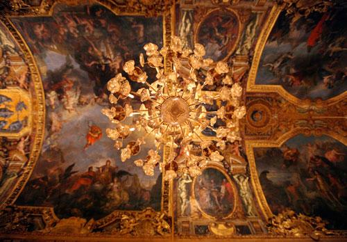 Chandelier from Chateau de Versailles