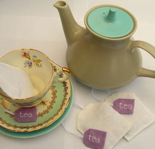 lavender teabag