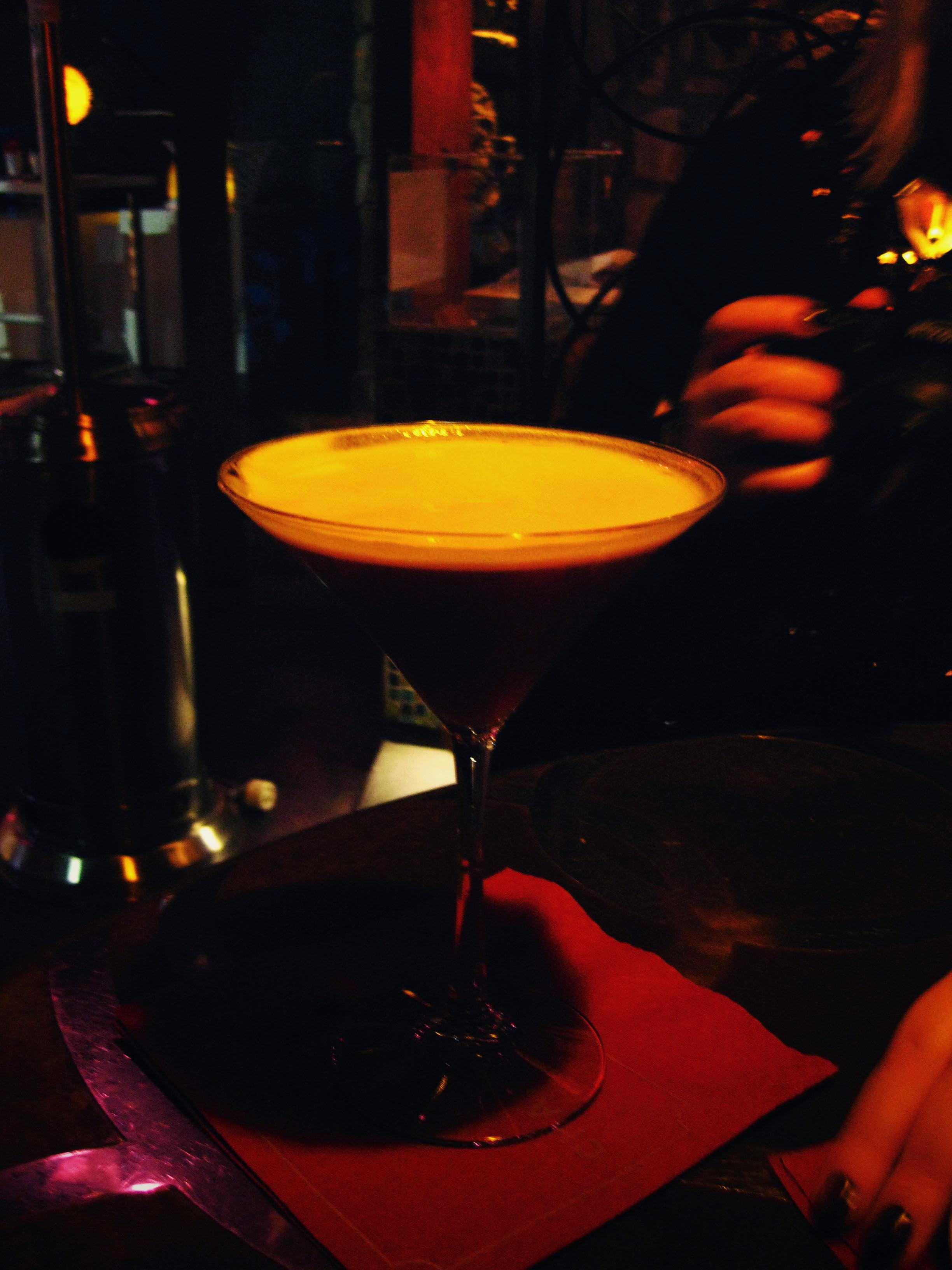A Chambord French martini