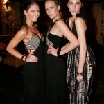 Three models wearing Talulah designs