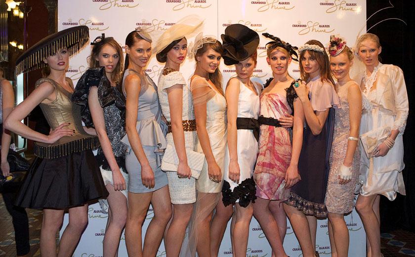 Chambord Shine Fashion Awards - Finals.  The Strand Arcade August 31 2010, Sydney Australia