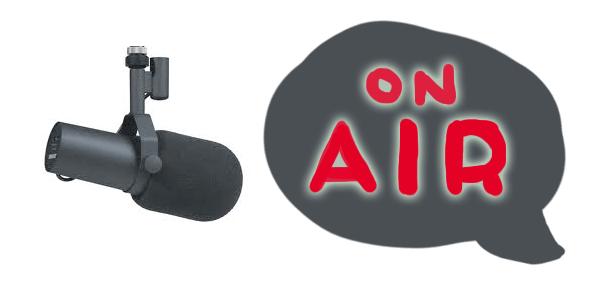 My radio debut on 612 ABC Brisbane