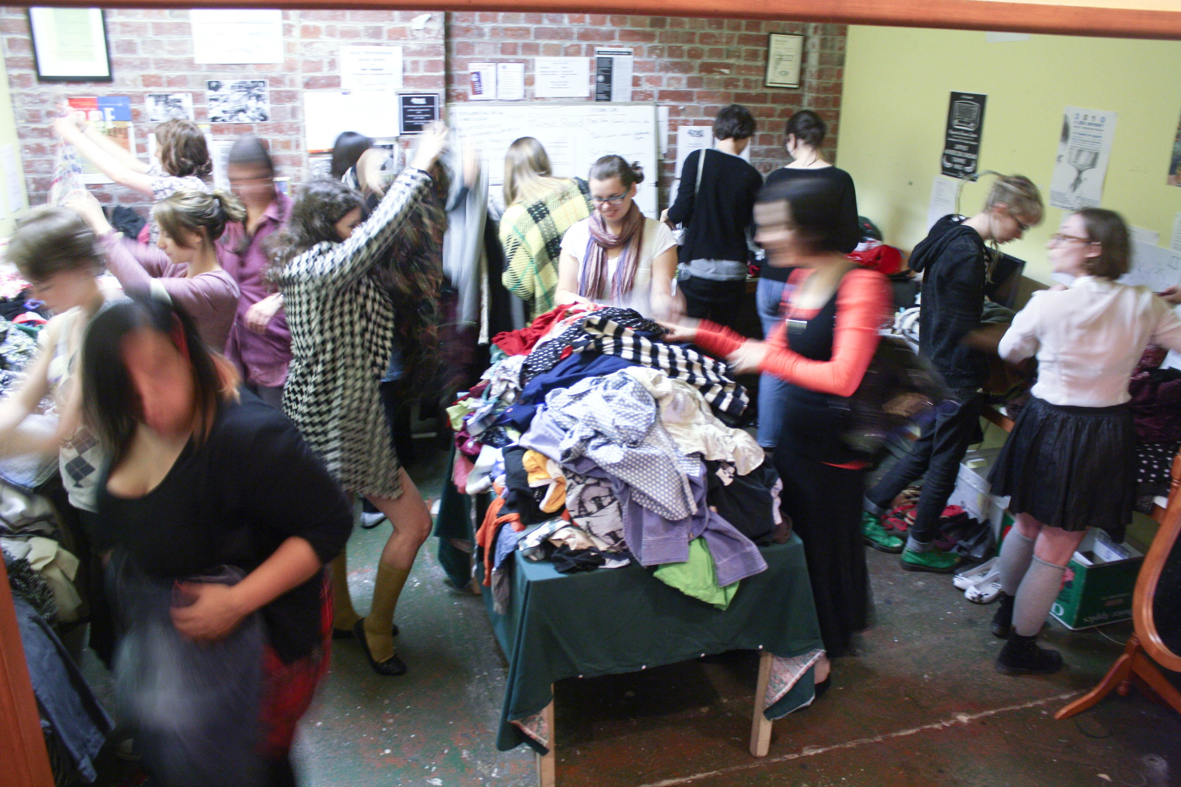 Megaherzzz Clothing Swap, and Being Fat in Brisbane.