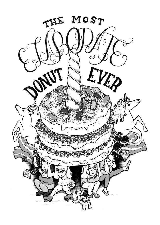 Elaborate Donut Cravings.