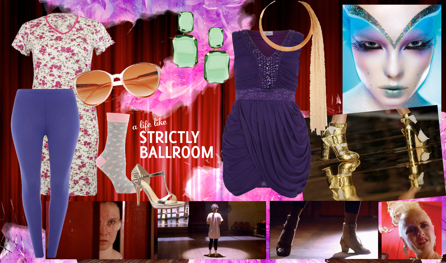 A life like Strictly Ballroom