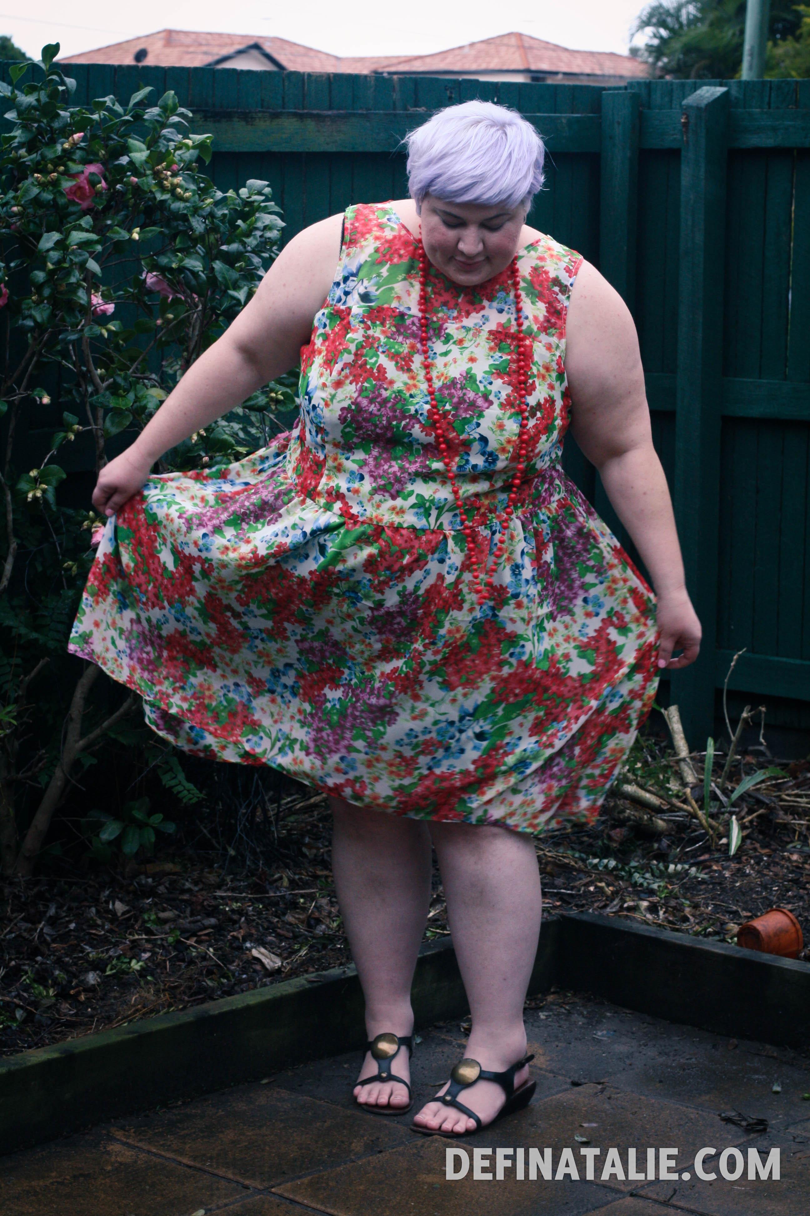 No 3: Floral garden dress!
