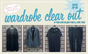 Garments from my wardrobe.