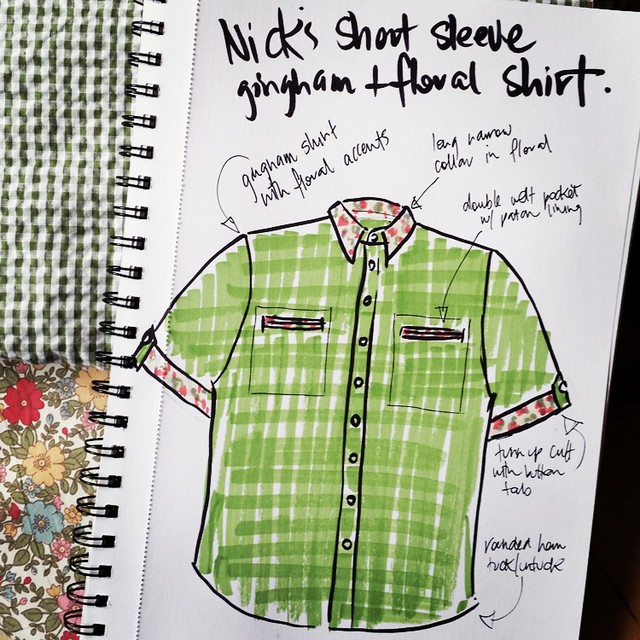 Project: Build Nick A Shirt.