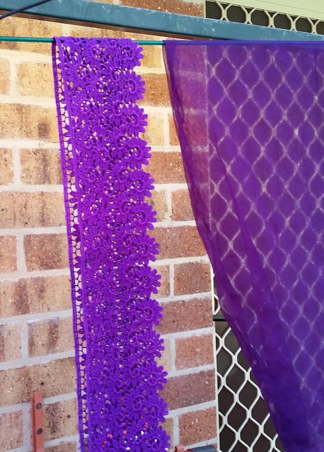 Purple lace - GET!