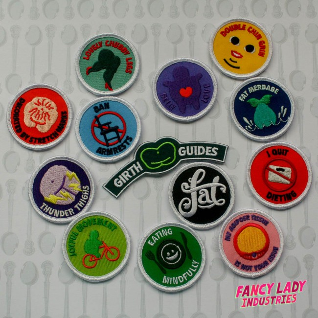 The original Girth Guide patch collection