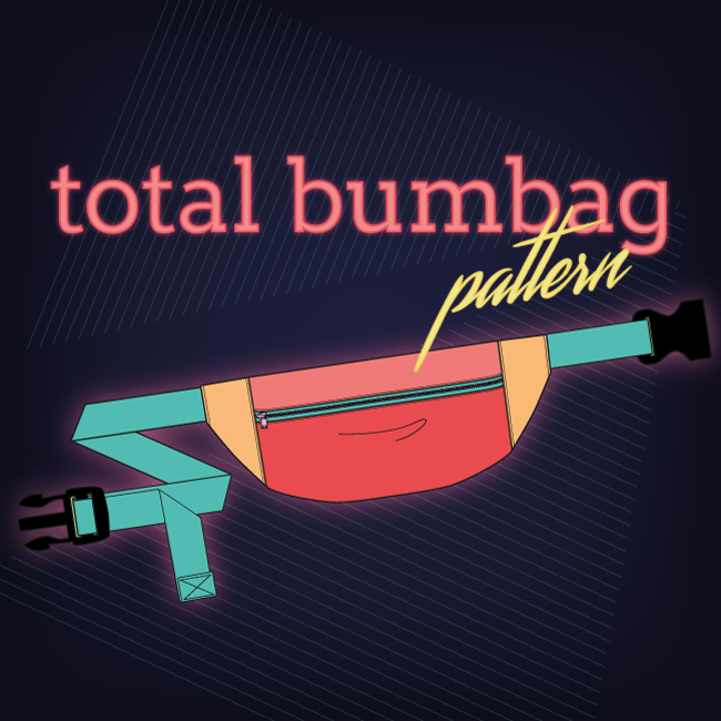 Total Bumbag sewing pattern