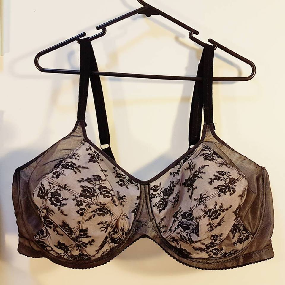 Bra inspiration reality check for large band/ large cup sizes.